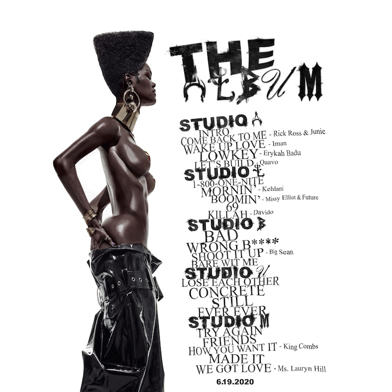 teyana taylor the album tracklist 1 Teyana Taylor Drops Star Studded New Project The Album: Stream
