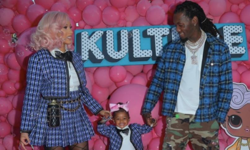 Cardi B Offset Daughter Kulture Birthday Party Cops