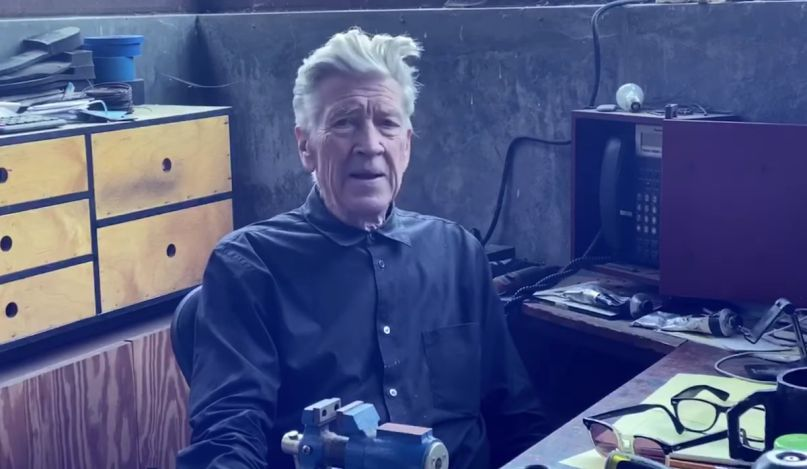David Lynch youtube channel weather report series next project new movie