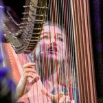 Joanna Newsom baby harp Andy Samberg kid, photo by Nina Corcoran