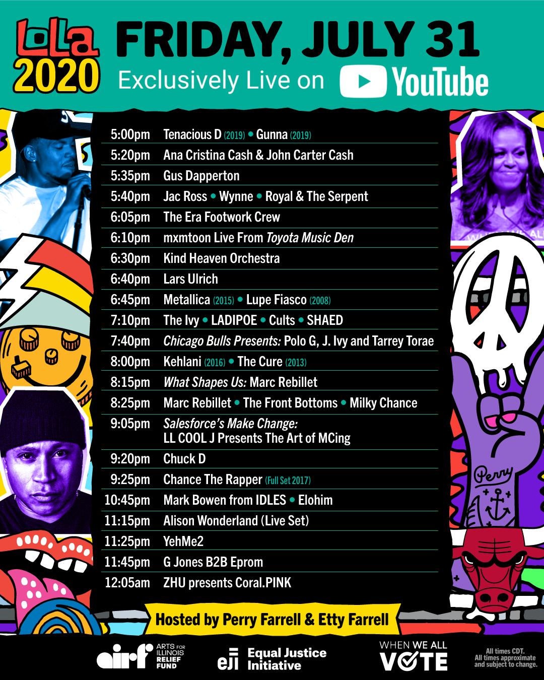 Lollapalooza 2020 Friday