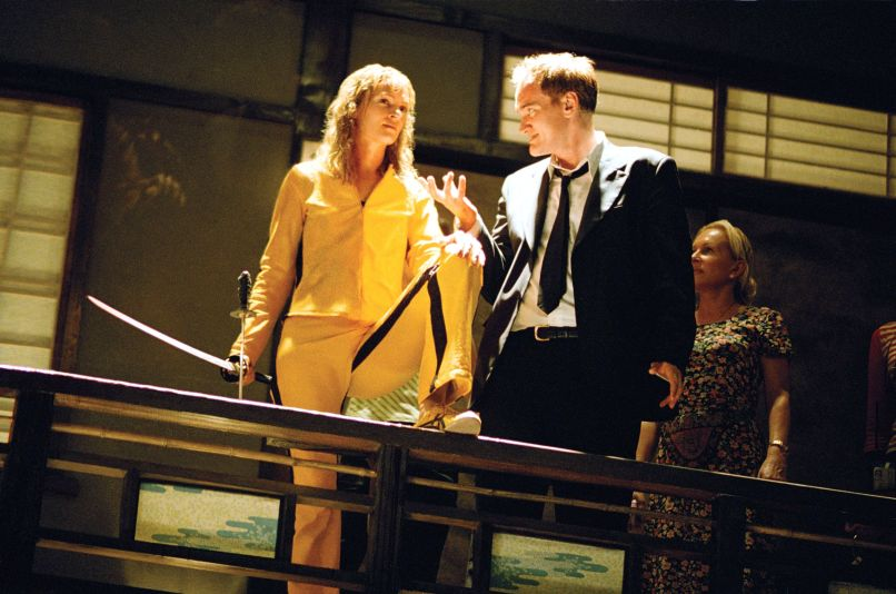 Quentin Tarantino Uma Thurman Kill Bill 1