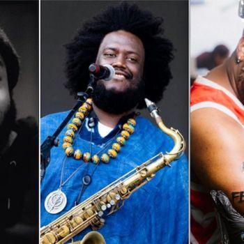 Terrace Martin, Kamasi Washington (Debi Del Grande), and Robert Glasper Dinner Party album stream record supergroup 9th wonder