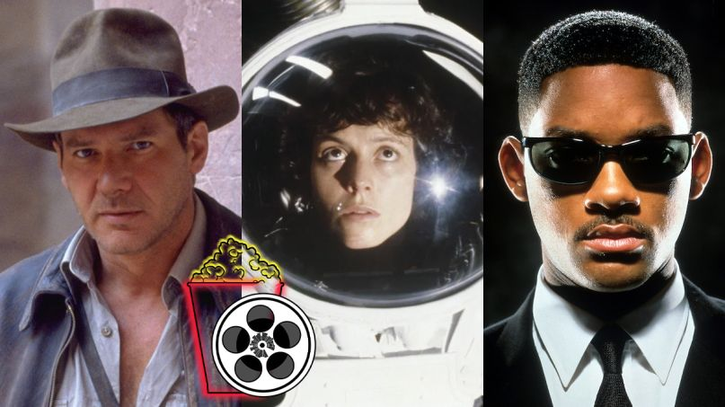 The 20 Greatest Summer Blockbuster Trailers alien indiana jones men in black
