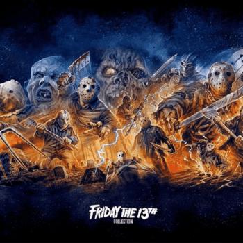 Friday the 13th Box Set, photo courtesy of Scream Factory