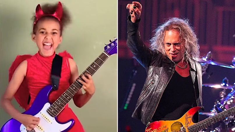 Nandi Bushell Metallica