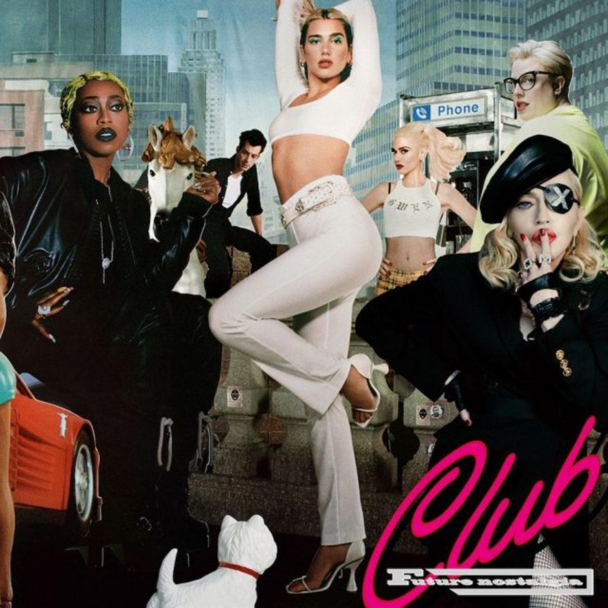 club future nostalgia artwork cover Dua Lipa Unveils Club Future Nostalgia Remix Album: Stream