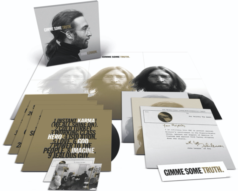 image015 John Lennons Solo Songs Remixed from Scratch for Deluxe Box Set Gimme Some Truth