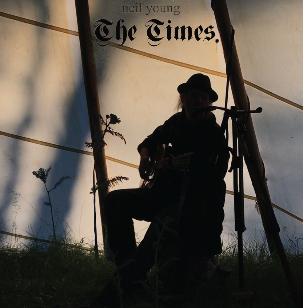 neil young the times ep cover artwork