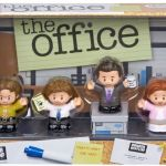the office Fisher-price little people set box playset