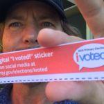 Eddie Vedder instagram Pearl Jam social media vote politics