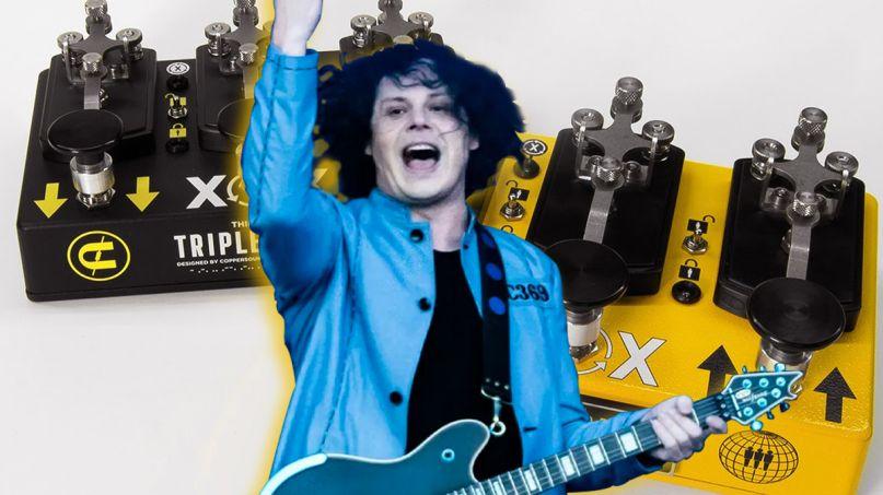 Jack White Announces Limited Edition Digital Octave Guitar Pedal Triplegraph Coppersound Pedals