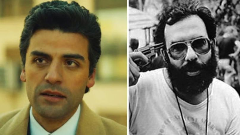 Oscar Isaac and Francis Ford Coppola