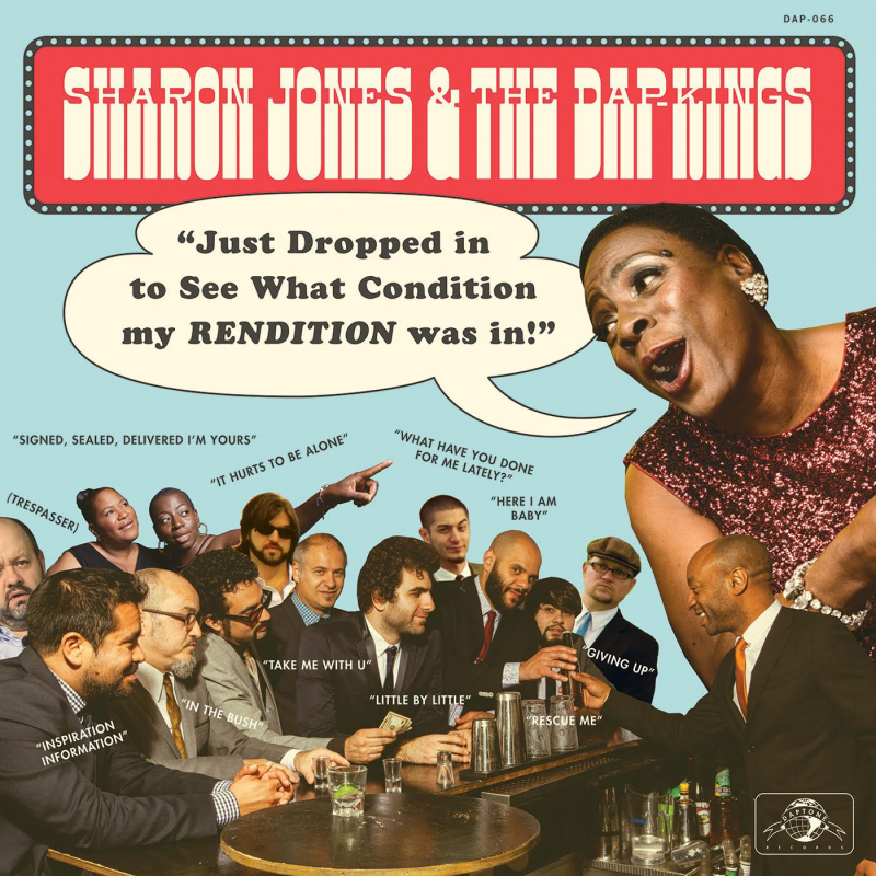 Sharon Jones Just Dropped In To See What Condition My Rendition Was In e1600101801374 Daptone Records Announces New Sharon Jones Compilation Album, Shares Cover of Signed Sealed Delivered Im Yours: Stream