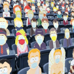 South Park Denver Broncos Cutouts NFL Football Game town characters