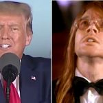 President Trump loves Guns N Roses November Rain