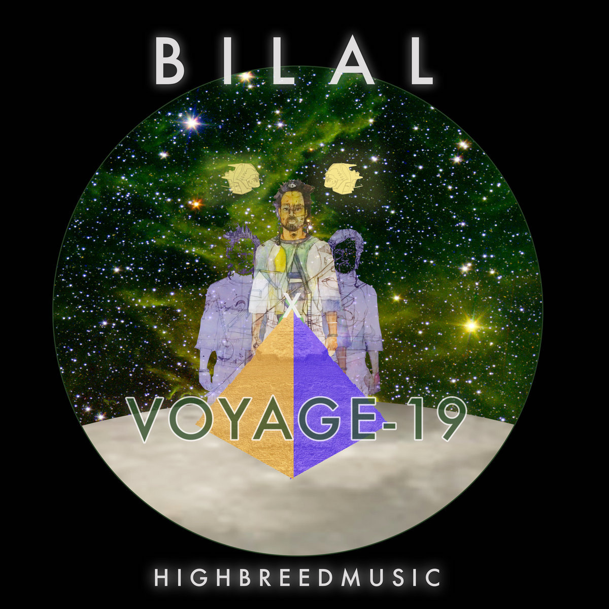 bilal voyage 19 album cover artwork Bilal Releases New Star Studded Album VOYAGE 19: Stream