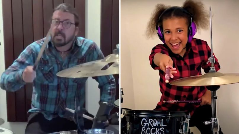 dave grohl foo fighters nandi bushell theme song