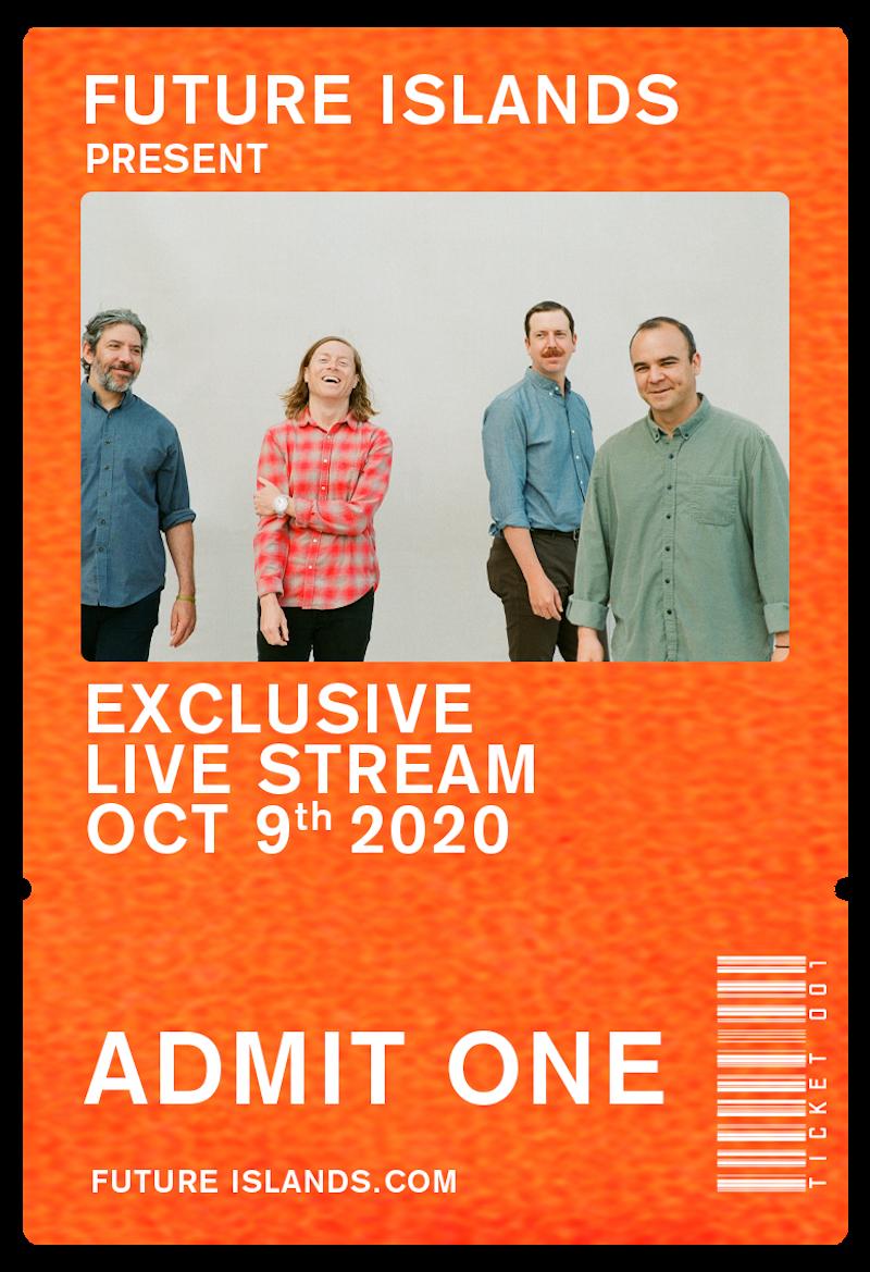 future islands livestream concert 2020 tickets Future Islands Reveal New Single Moonlight: Stream