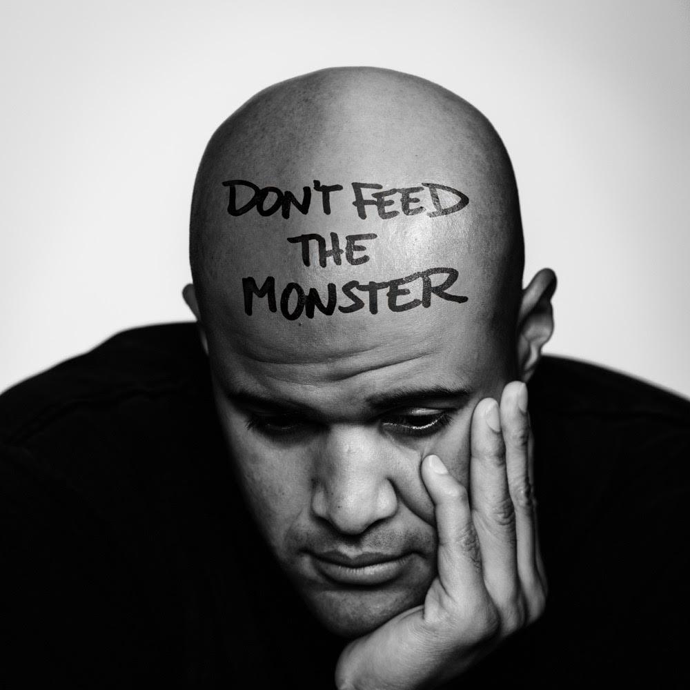 homeboy sandman dont feed the monster album cover art Homeboy Sandman and Quelle Chris Announce New Album Dont Feed the Monster, Share Trauma: Stream