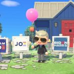 joe biden kamala harris presidential campaign animal crossing