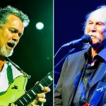 Eddie Van Halen and David Crosby