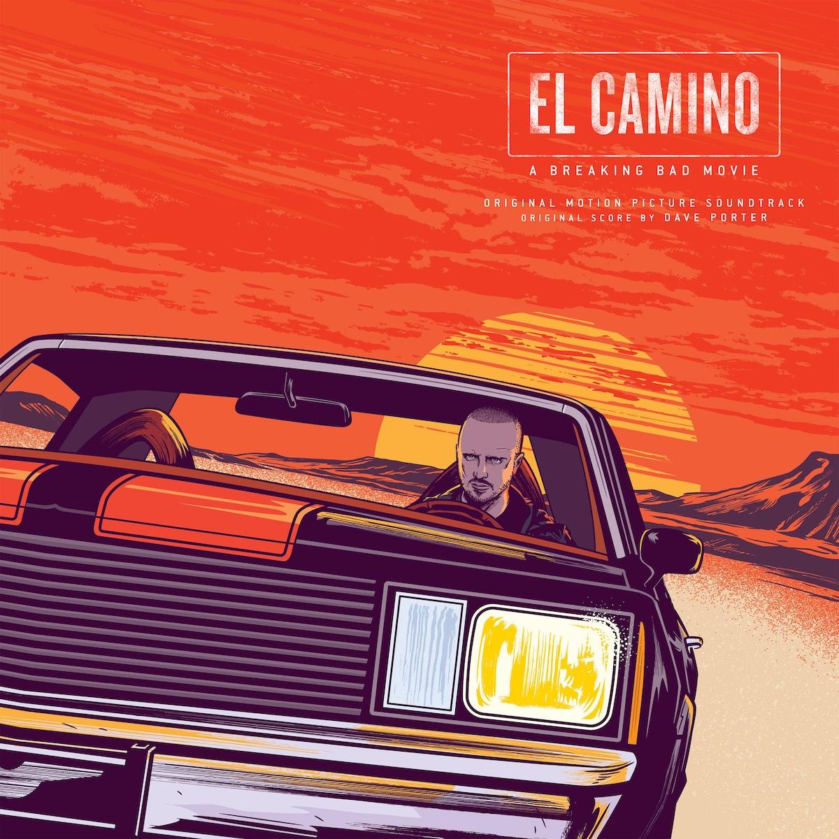 El Camino a Breaking Bad Movie soundtrack mondo vinyl front