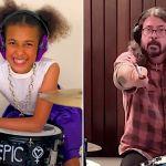 Nandi Bushell Dave Grohl theme song
