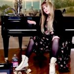 Stevie Nicks TikTok challenge Dreams roller skates video, photo via TikTok