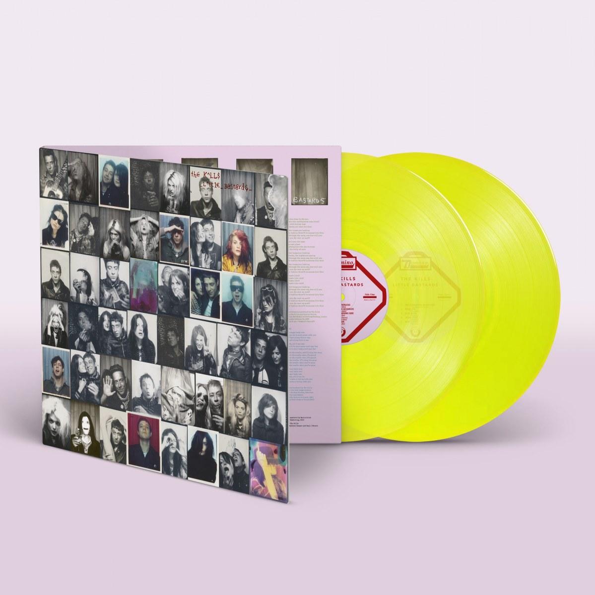The Kills little bastards rarities album artwork raise me vinyl