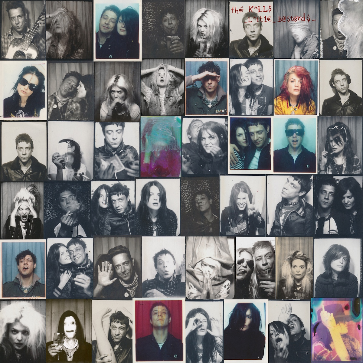 The Kills little bastards rarities album artwork raise me