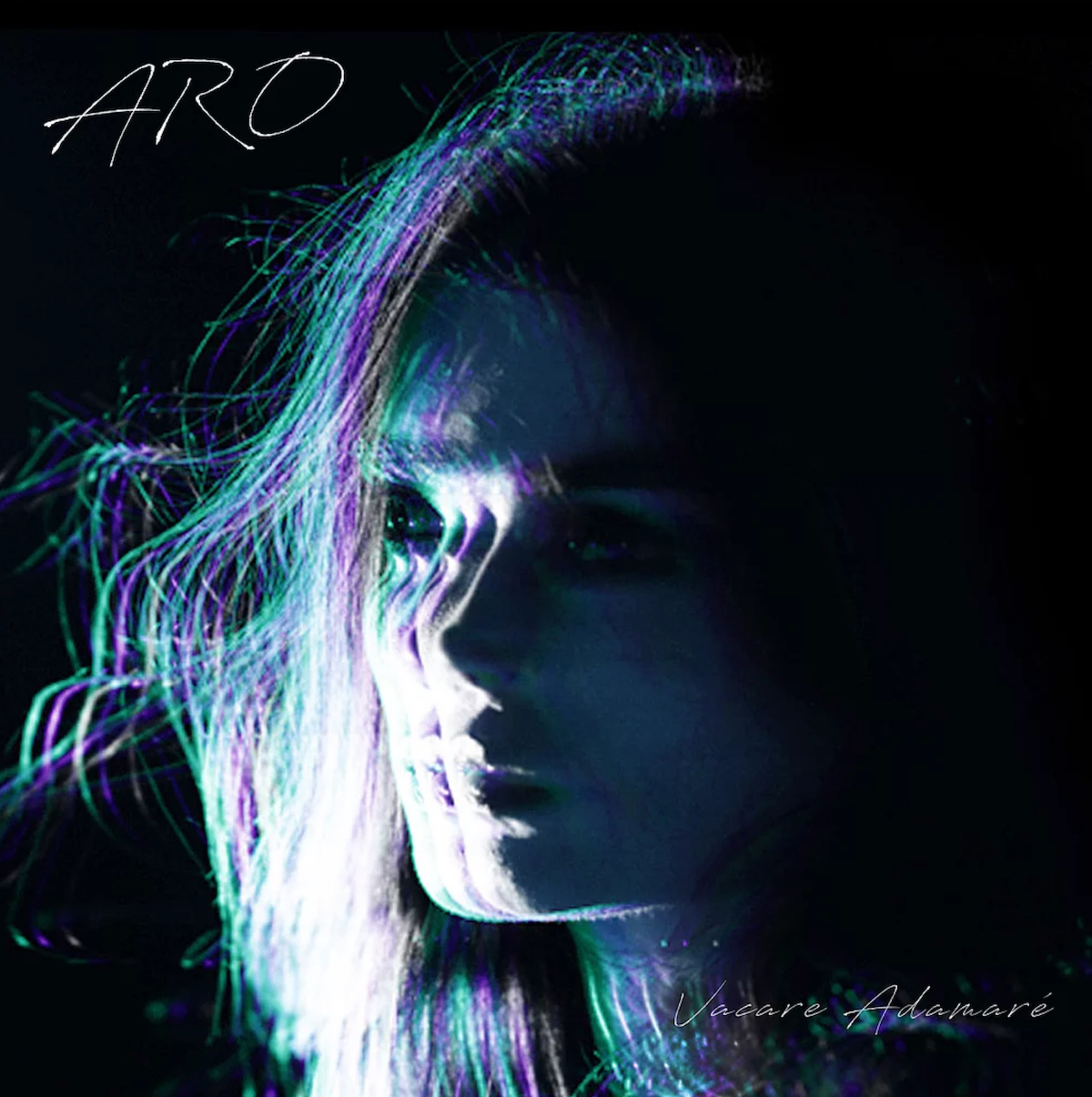 aro aimee osbourne vacare adamare album cover artwork stream track by track interview