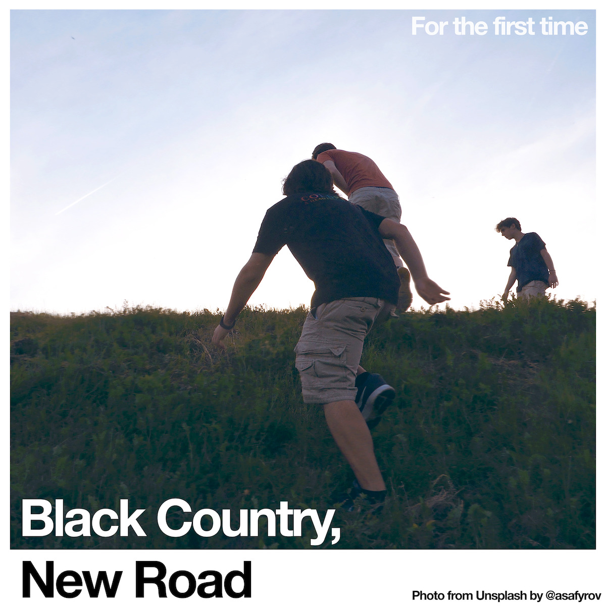 black country new road for the first time album cover artwork science fair