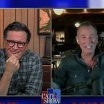 bruce springsteen stephen colbert late show interview letter to you new album