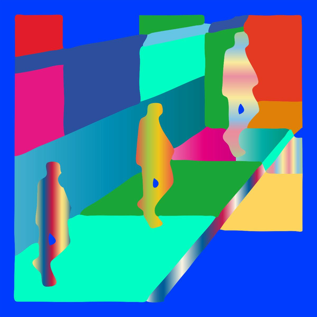 hot chip straight to the morning artwork Hot Chip Recruit Jarvis Cocker for New Single Straight to the Morning: Stream