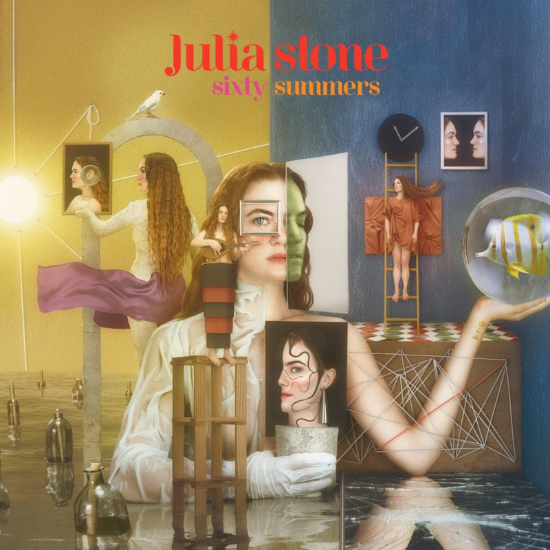 julia stone sixty summers album cover art Julia Stone Announces New Solo Album, Shares Dance Video Starring Danny Glover and Susan Sarandon: Watch