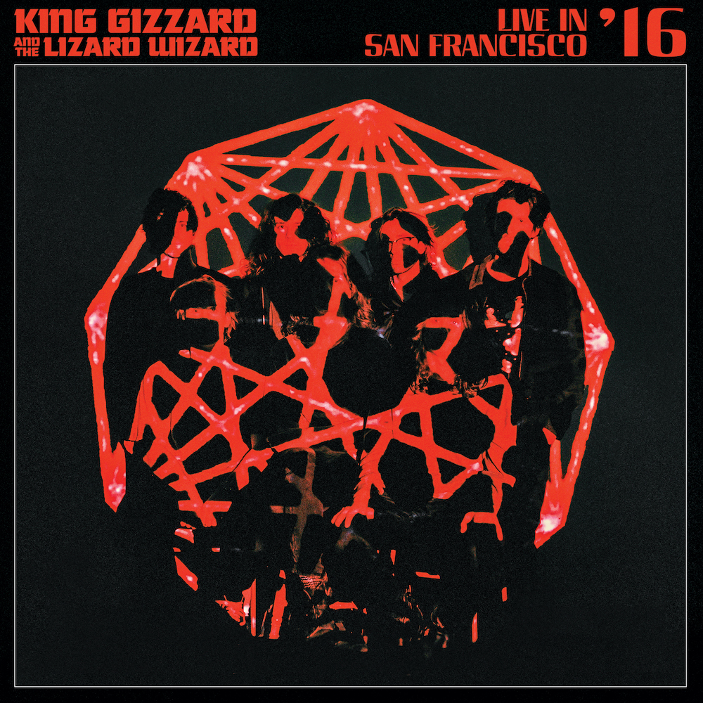 king gizzard live sf 16 cover art King Gizzard and the Lizard Wizard Announce New Album K.G., Share Automation: Stream