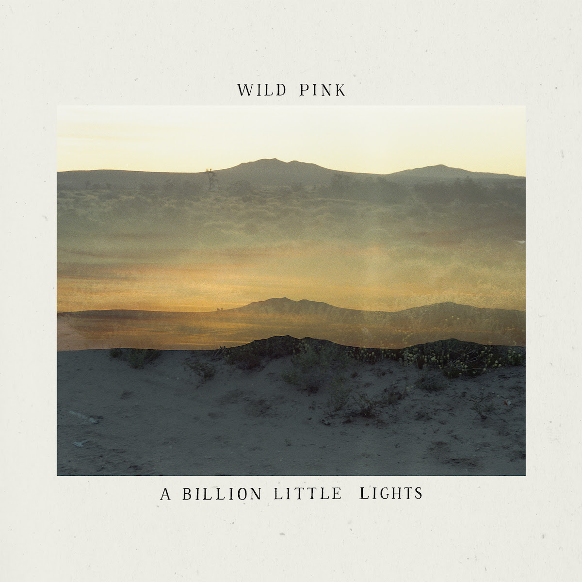 wild pink a billion little lights album cover art Wild Pink Announce New Album A Billion Little Lights, Share The Shining But Tropical: Stream