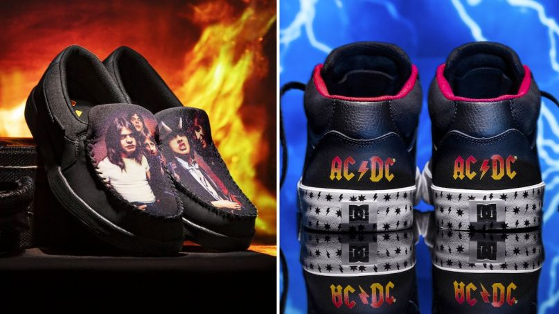 AC/DC x DC Shoes