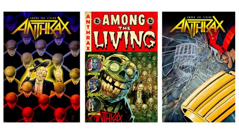Anthrax Graphic Novels