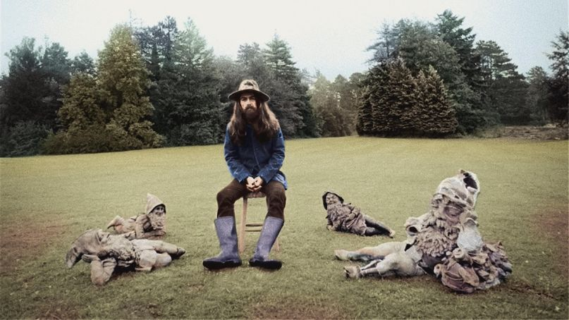 George Harrison's album cover for All Things Must Pass