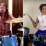 Dave Grohl and Nandi Bushell write together
