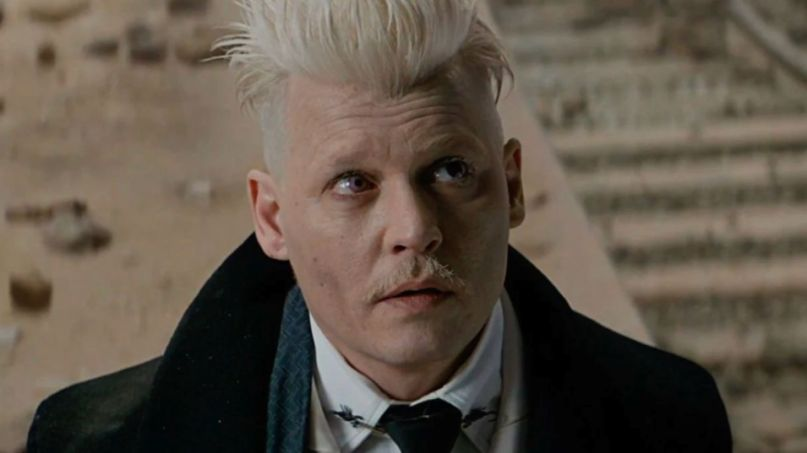 Johnny Depp in Fantastic Beasts
