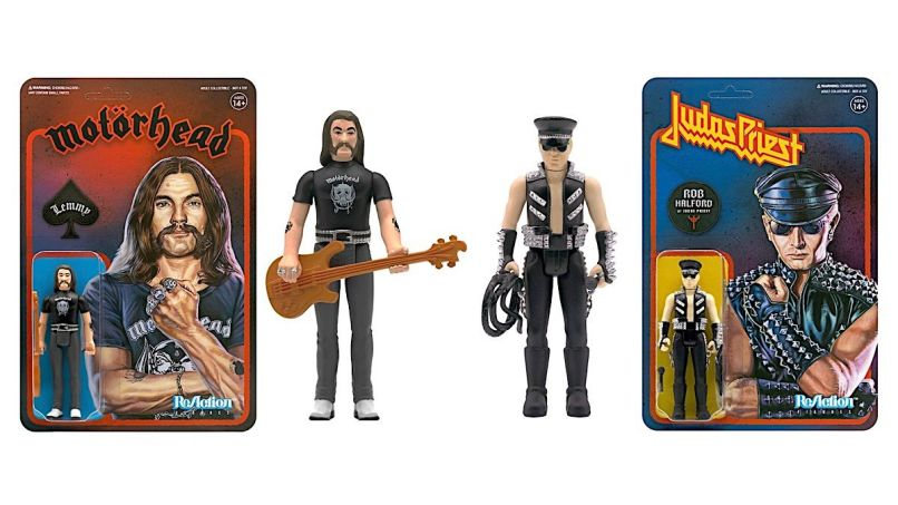 Lemmy Halford action figures Heavy Metal 2020 Holiday Gift Guide