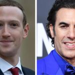 Mark Zuckerberg Facebook Sacha Baron Cohen tweet twitter quote