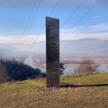 Mysterious Monolith Reappears in Romania