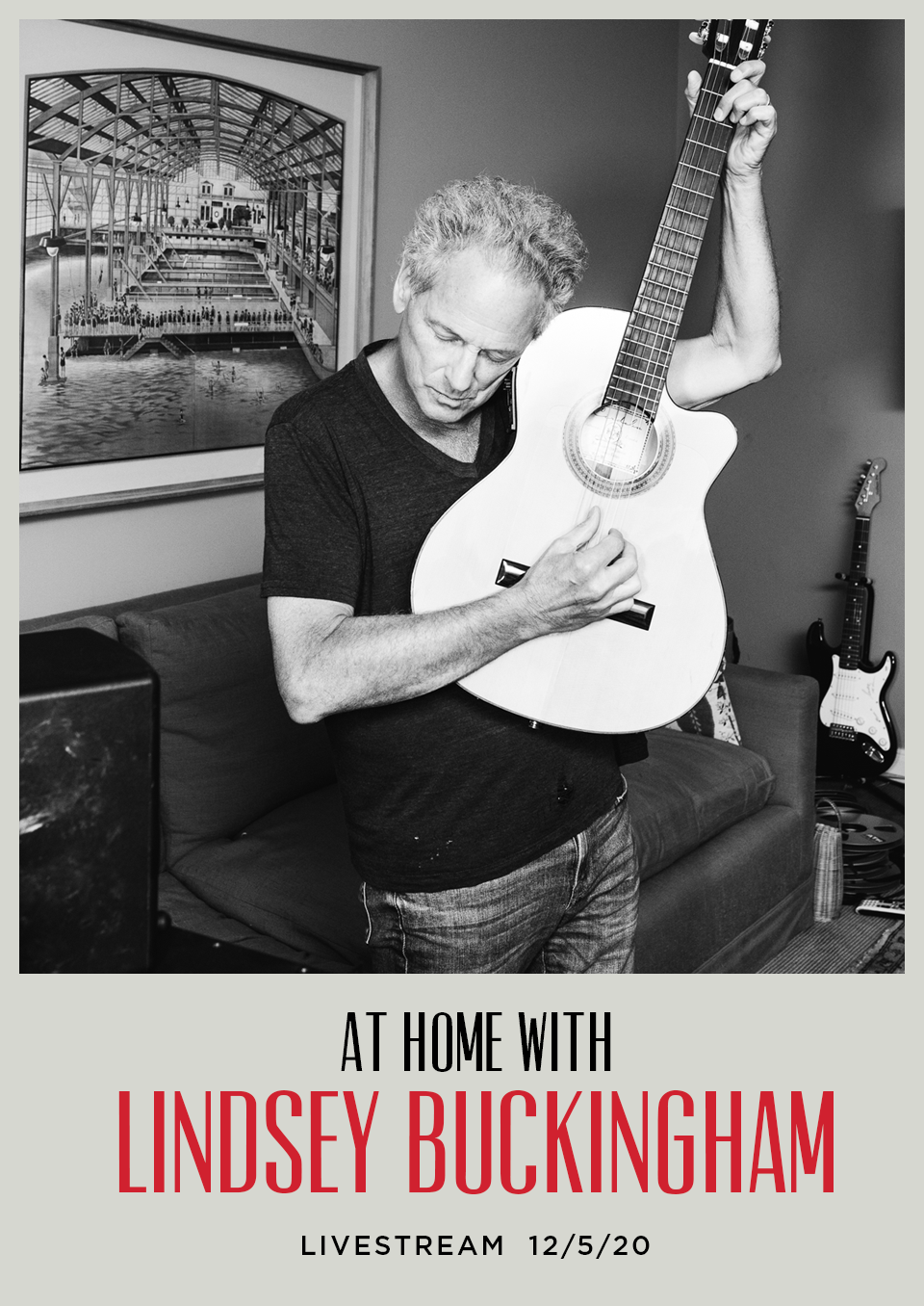 at home with lindsey buckingham livestream concert