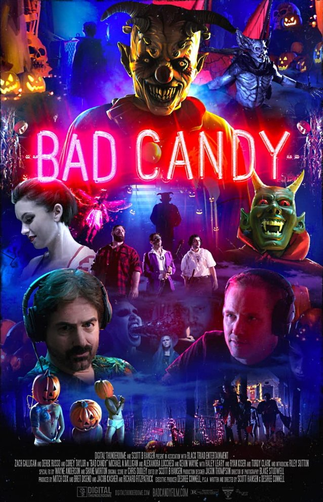 bad candy poster Corey taylor