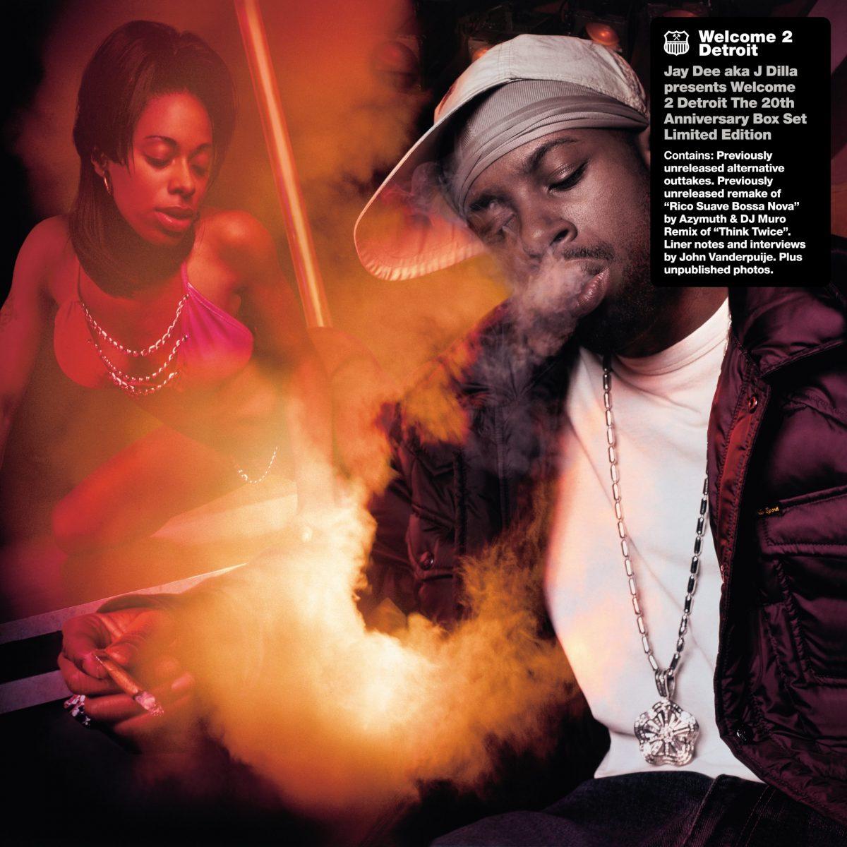 j dilla welcome 2 detroit 20th nniversary vinyl box set 7-inch cover art