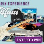 jimi hendrix experience live in maui prize pack stratocaster guitar merch giveaway win